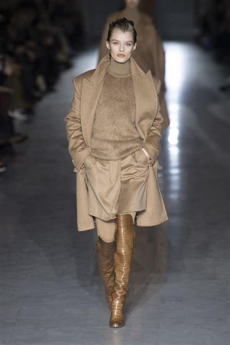 Milan Fashion Week Max Mara Fall 2019 Collection Tom