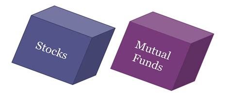 difference  stocks  mutual funds