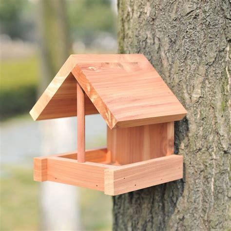 eco strong wood seed bird feeder bird feeders