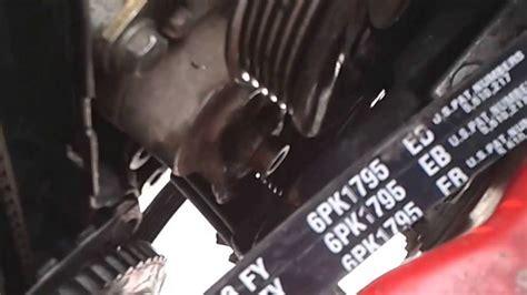 cambio de banda alternador chevy