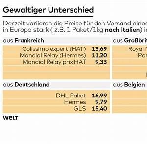 Ups Paket Preise Berechnen : paketporto in europa eu will transparente preise welt ~ Themetempest.com Abrechnung