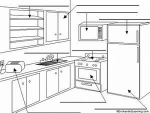 Label The Kitchen  U0026quot La Cocina U0026quot  In Spanish Printout