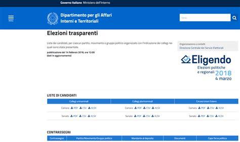 Ministero Interni Elezioni - elezioni trasparenti jpg ministero dell interno