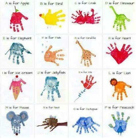 hand  footprint art ideas