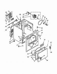 Kenmore 110c61402311 Dryer Parts