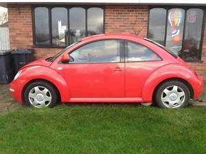 Vw Beetle 2000 Red Spares Or Repair  Car For Sale