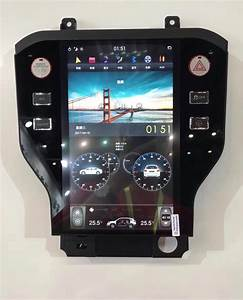 """Ford Mustang 2015 - 2018 11.8"""" Vertical Screen Android Radio with 2K R – Rhino Radios"""