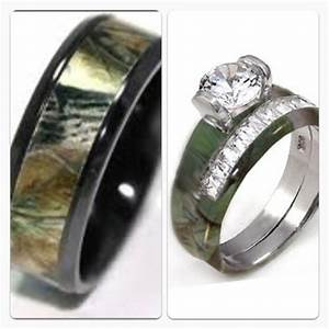his and her camo wedding bands camo prom or wedding With camo wedding rings for her