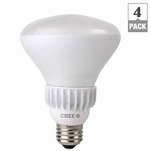 Cree w equivalent soft white k br dimmable led