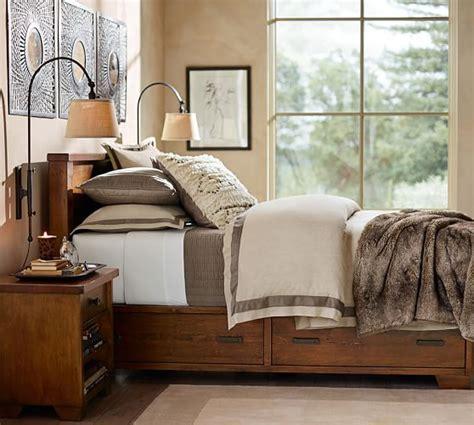 sumatra storage bed dresser set pottery barn