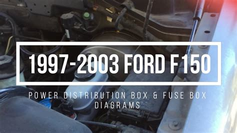 ford  fuse box locations diagrams youtube