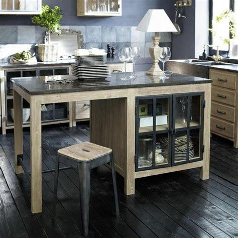 ilot central cuisine bois cuisine îlot central le cœur vivant de la maison