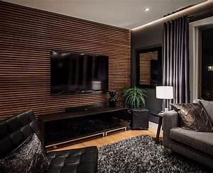 Wohnzimmer Tv Wand Ideen : die besten 25 holzwand wohnzimmer ideen auf pinterest holzwand hinter fernseher holzwand ~ Orissabook.com Haus und Dekorationen