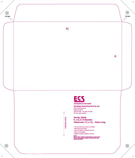 envelope template cyberuse