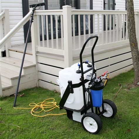 16-CC50K 50L Caravan Cleaning Trolley System from A+D Supplies