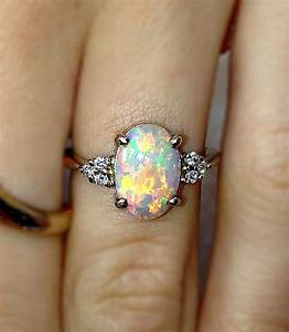 awesome 52 stunning stone engagement rings wedding rings With opal and diamond wedding rings