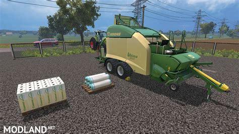 Krone Ultima CF 155 XC Black Wrap mod for Farming ...