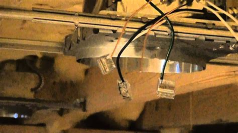 Diy Recessed Light Wiring Video Youtube