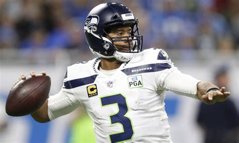 seahawks player   game qb russell wilson