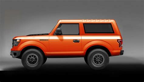 2019 Mini Bronco by The Legendary 2018 Ford Bronco Will Come Back