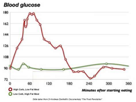 blood sugar levels   carb high fat edify