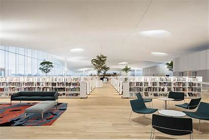 Library Helsinki Oodi Interior Central Floor Finland