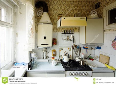 Old Small Kitchen Royalty Free Stock Image   Image: 2280026