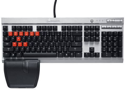corsair announces new vengeance gaming keyboards and laser
