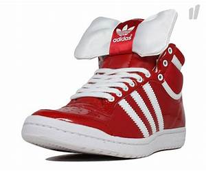 Adidas Trefoil Design Adidas Originals Top Ten Hi Sleek Bow Sneakernews Com