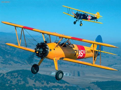 aircraft planes biplanes  flight picture nr