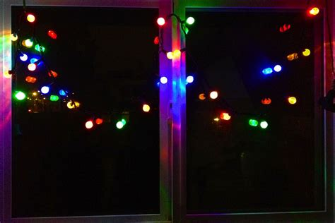 christmas light window christmas lights card and decore
