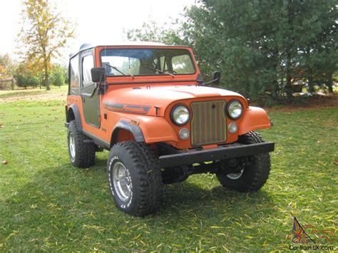amc jeep cj7 performance 304 amc engines for sale performance free