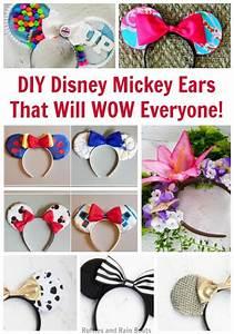 ways to diy disney mickey ears that will wow your fan