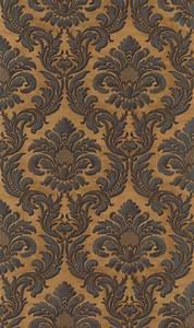 Tapete Barock Schwarz : rasch trianon xi 515046 vlies tapete ornamente barock schwarz natur erdt ne oldpattern ~ Yasmunasinghe.com Haus und Dekorationen