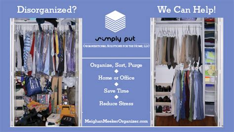 Professional Home & Office Organizing  Closets, Garage