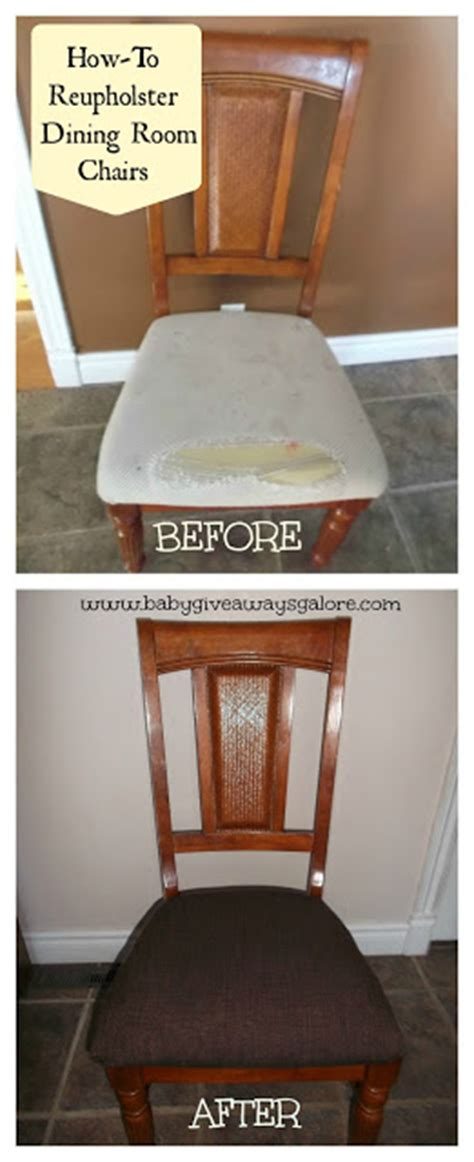 How To Reupholster A Dining Home Improvement Ideas A 39 S Take
