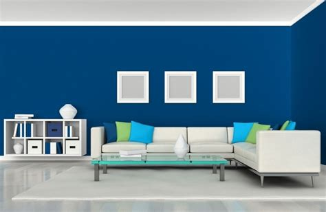 Blaue Wand Wohnzimmer by Inspiring The Living Room Color Ideas Midcityeast