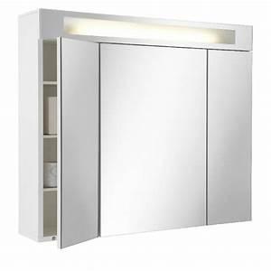 Armoire de toilette Fluo tryptique Salle de bains