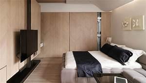Tv Im Schlafzimmer : a tiny taiwanese apartment ~ Markanthonyermac.com Haus und Dekorationen