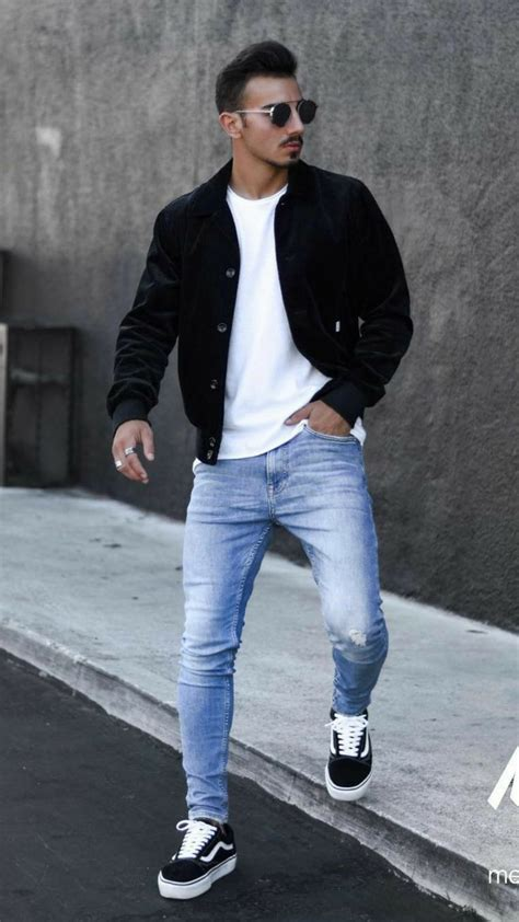 casual streetwear outfit young mens fashion mens