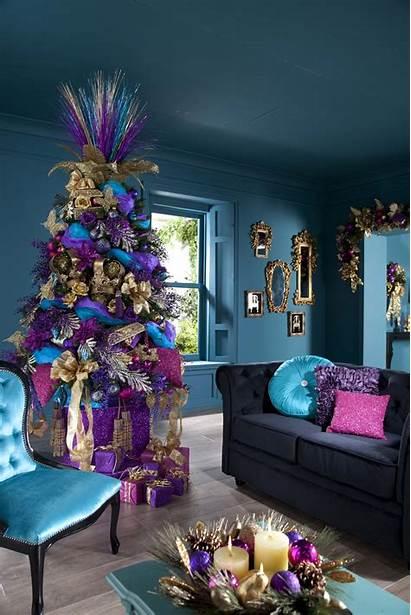 Decor Indoor Holidays Festive Christmas During Tree