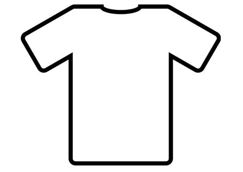 Kleurplaat Shirt by Kleurplaat T Shirt Afb 19012
