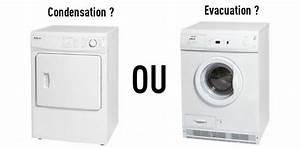 Sèche Linge À Condensation : s che linge condensation ou vacuation comment ~ Nature-et-papiers.com Idées de Décoration