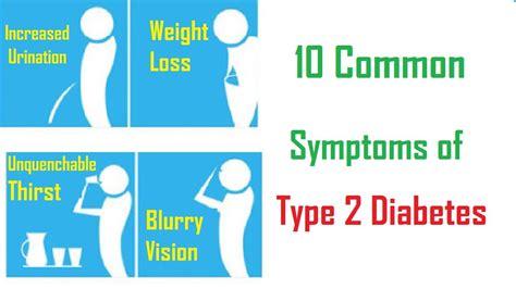 10 Common Symptoms Of Type 2 Diabetes