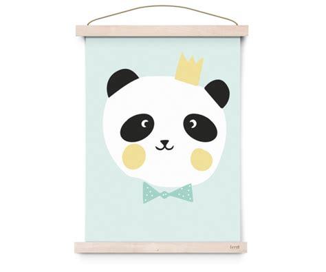 Poster Panda Babykamer by Poster King Panda Kinderkamer