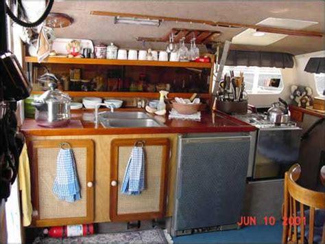 boat kitchen design corinne kanter galley advice from a catamaran cruiser 1752