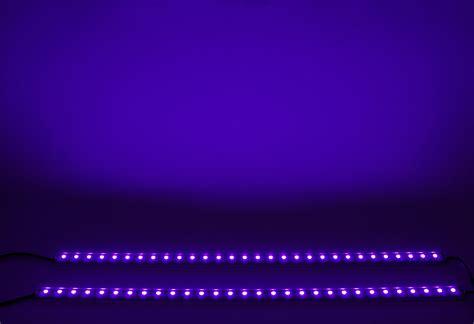 purple led light bar new led lights 18 quot uv purple dj disco club bar slightly