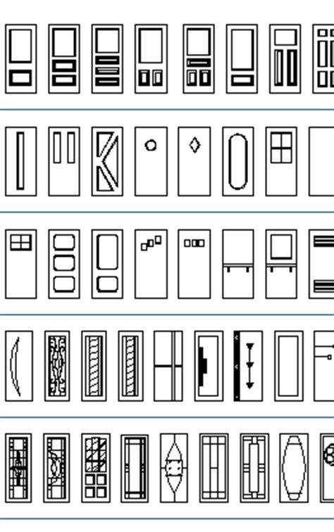 folding kitchen doors cad blocks thousand dwg files simple doors