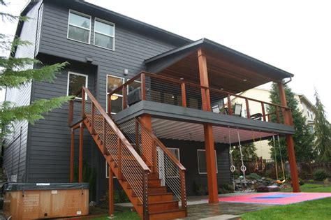 happy valley floor remodel modern deck portland