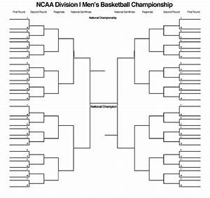 blank march madness bracket to print for 2015 ncaa tournament With blank march madness bracket template